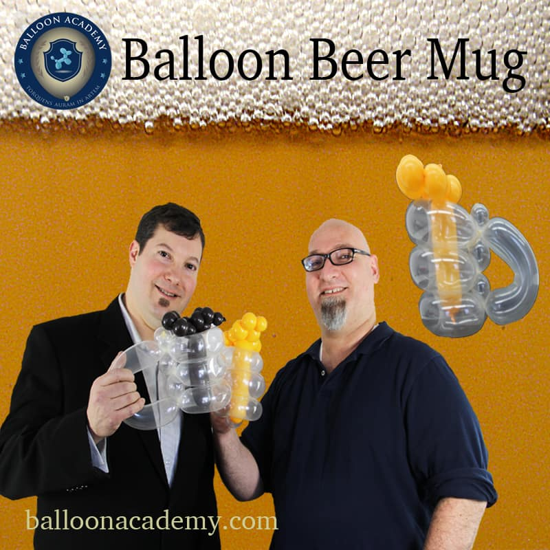 Balloon Beer Mug by Todd Neufeld