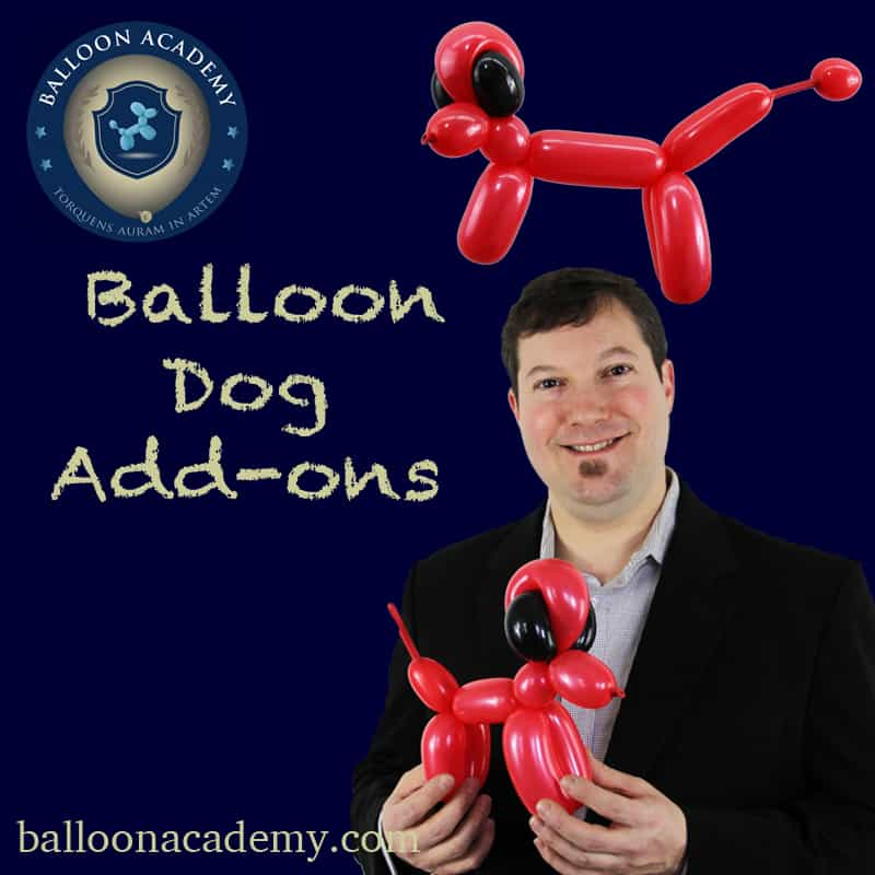 Balloon Dog Add-ons by Todd Neufeld