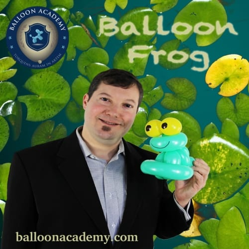 Simple Balloon Frog by Todd Neufeld
