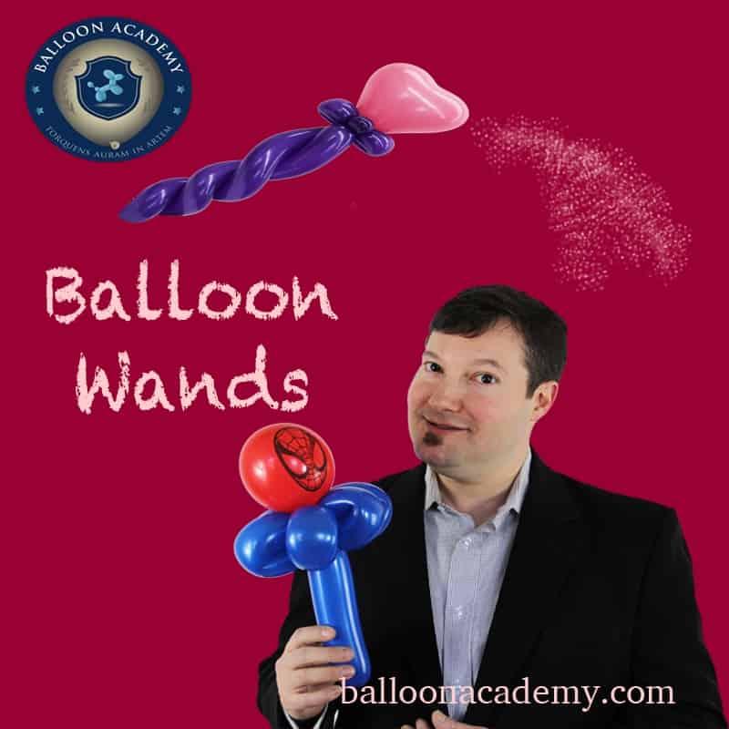 Balloon Wands by Todd Neufeld