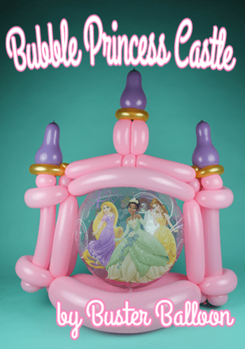 Bubble Princess Castle Artwork