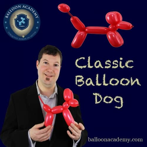 Classic Balloon Dog by Todd Neufeld