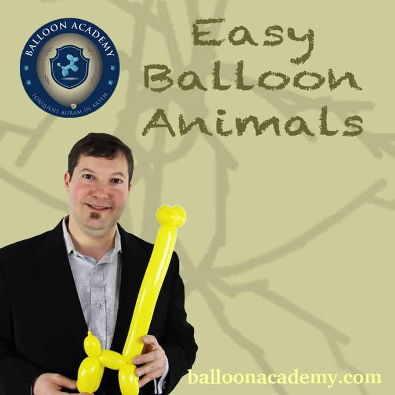 Easy Balloon Animals by Todd Neufeld