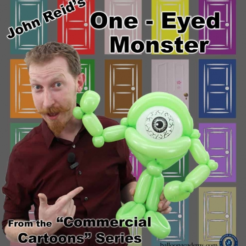 One Eyed Monster by John Reid