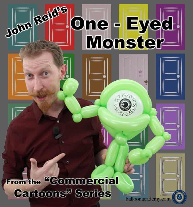 One Eyed Monster by John Reid