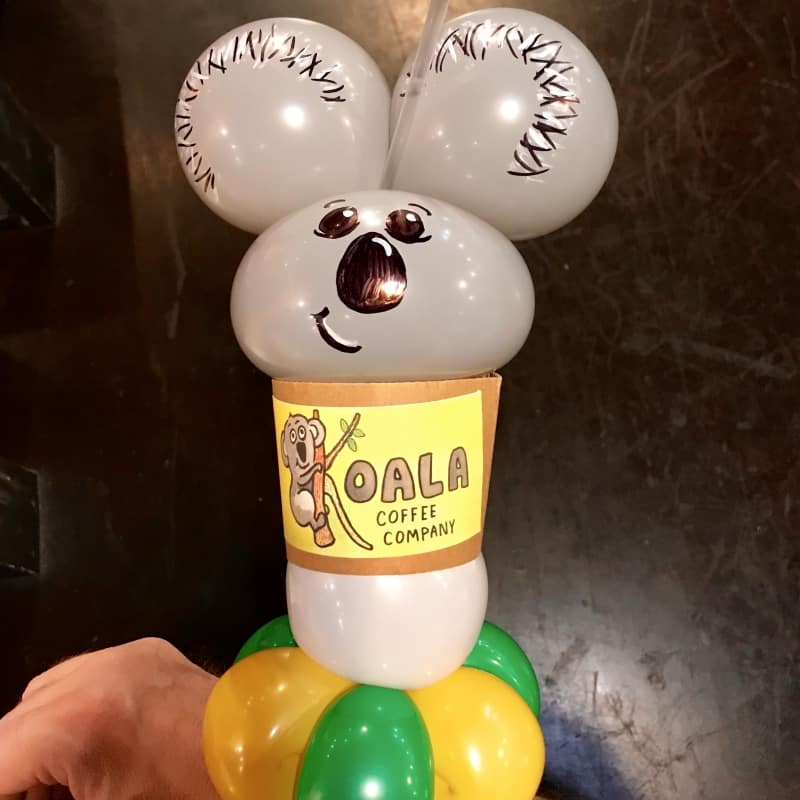 Coffee Cup Balloon
