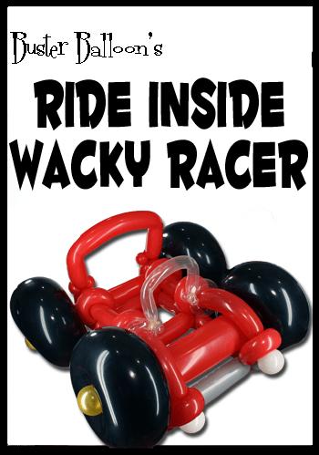 Wacky Racer Artwork