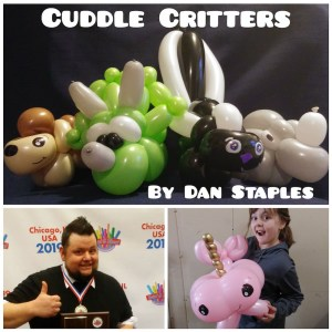 Cuddle Critters, by Dan Staples