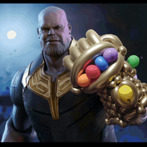 Thanos Balloon Infinity Gauntlet
