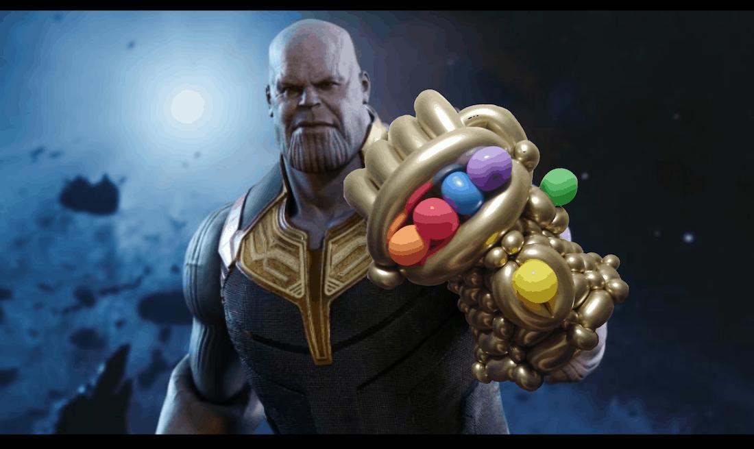 Dan's Balloon Infinity Gauntlet